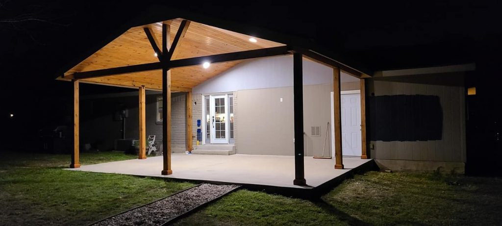 Covered Patio Round Rock TX
